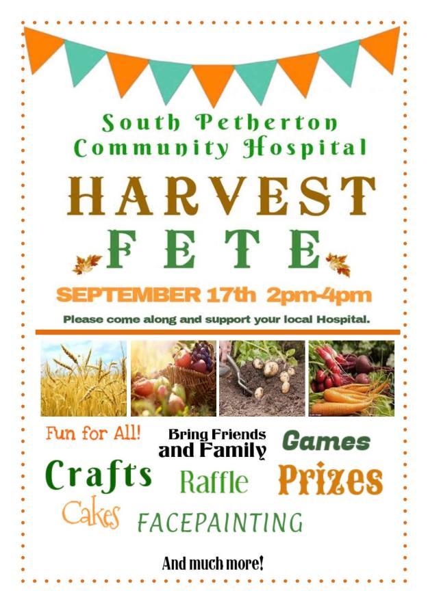 Harvest Fete poster