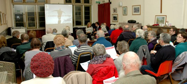 Public meeting at Methodist Hall in South Petherton
